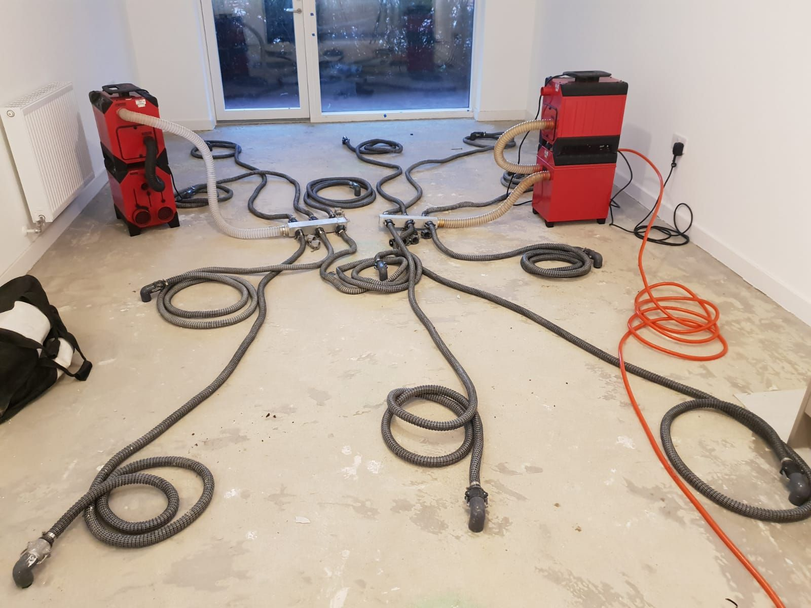 injection drying method used on property in London