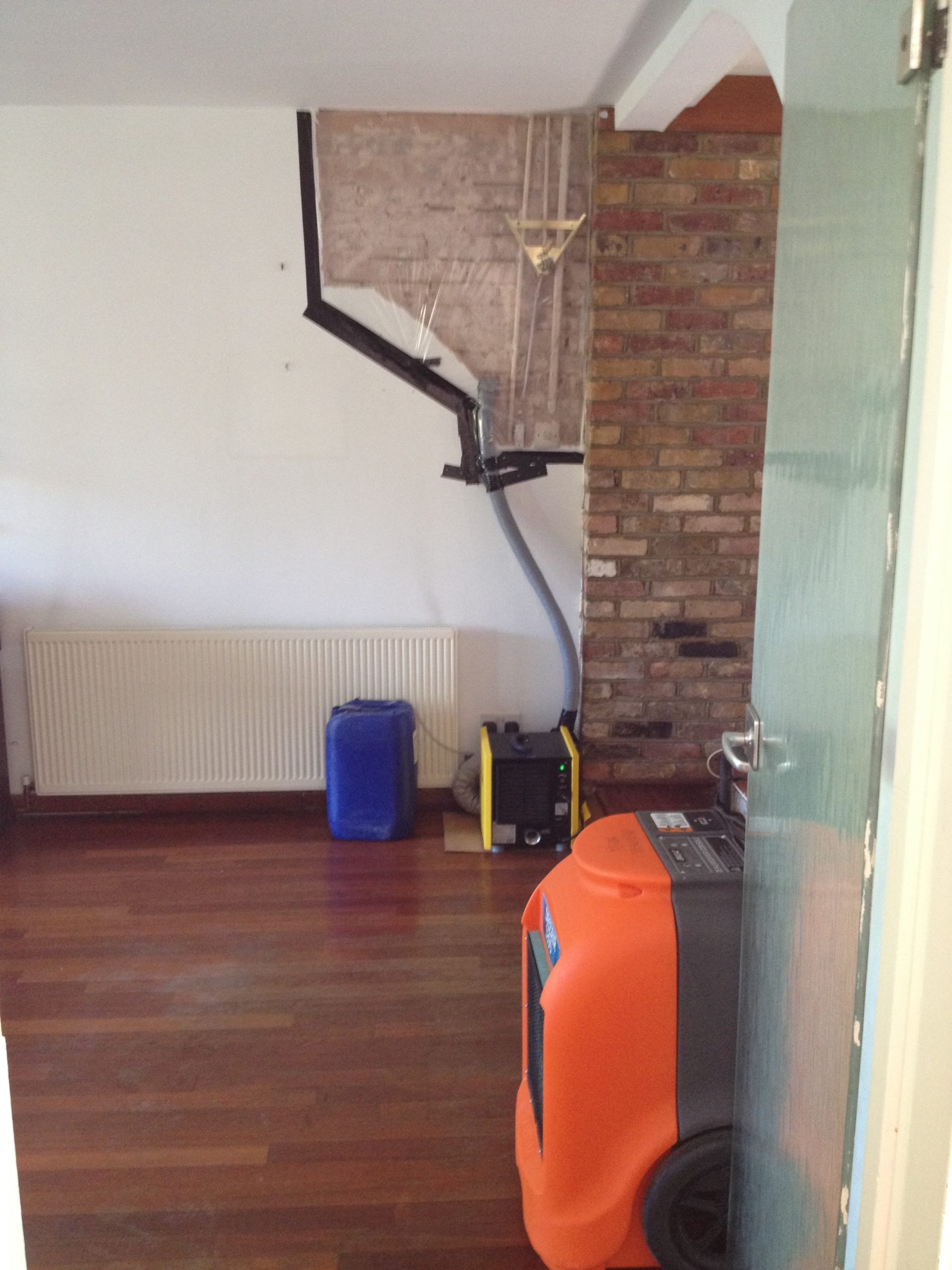 drying equipment in London property