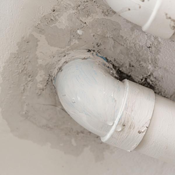Faulty plumbing can cause sewage to leak