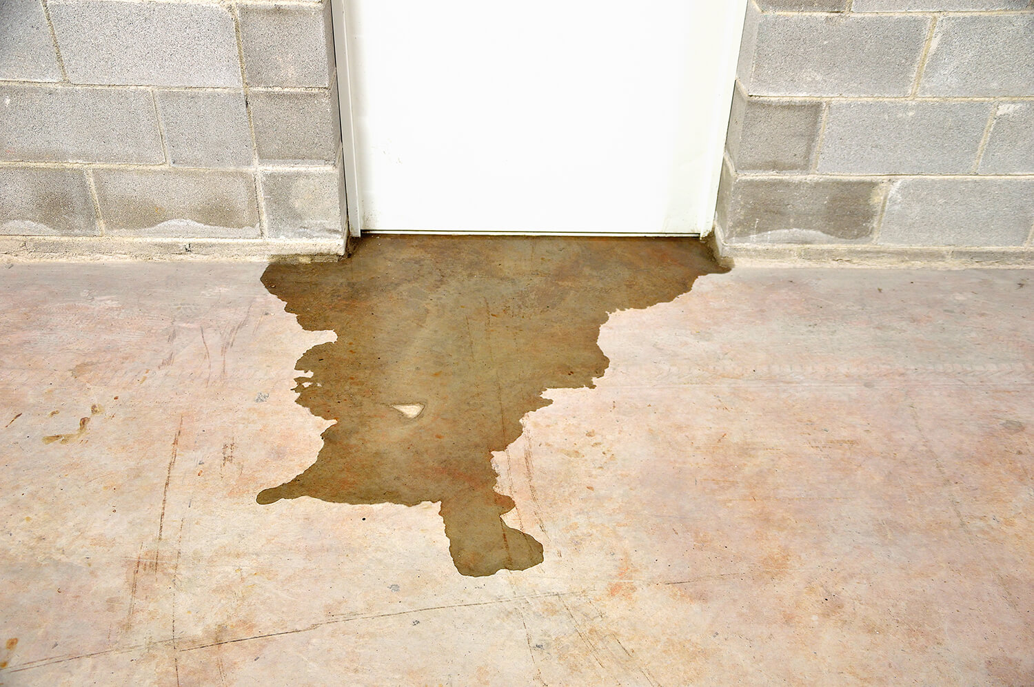 sewage backup from commercial building